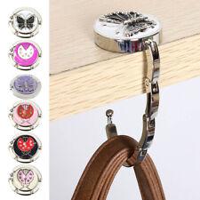 Chic Embossed Metal Butterfly Ladybug Handbag Bag Purse Hanger Hook Table Holder