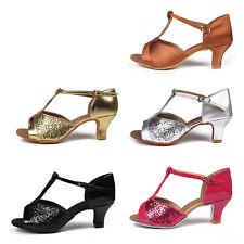 Brand New Ballroom Heeled Latin Dance Shoes for Women/Ladies/Girls/TangoSalsa259