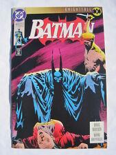 "BATMAN 493. ""KNIGHTFALL"" part 3. BANE by MOENCH. KELLEY JONES COVER. DC.1993"
