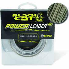 Black Cat Power Leader 20m Vorfachmaterial für Wallervorfächer  Waller-Shop