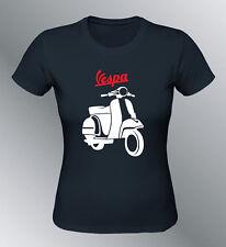 Tee shirt personnalise Vespa femme S M L youngtimer vintage cyclomoteur scooter