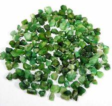 Natural Green brazil Emerald Rough Loose Gemstone Lot .