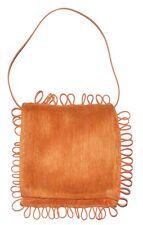 Sac à main CELINE ROBERT femme cérémonie orange scoubidous made in France bag
