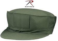 Olive Drab USMC Marines 8 Point Military Cap w/ No Emblem Rothco 5648