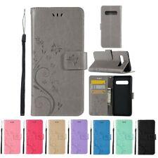 CoverKingz Samsung Galaxy S10 Handyhülle Flip Case Handytasche Schmetterling