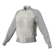 Adidas Originals Ef Supergirl Faux Leather Jacket Jacke Z35437 Sampelverkauf