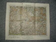 1/14/11 historisch Landkarte Deuts. Reich Sulzbach 1888