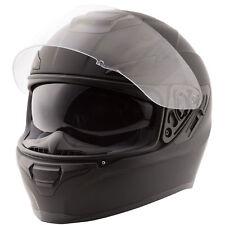 Fly Street 2018 SENTINEL Full-Face Motorcycle Helmet w/ Sun Shield (Matte Black)