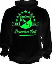Deportivo Cali de Colombia Futbol Soccer Camiseta Postobon hoodie handmade mens