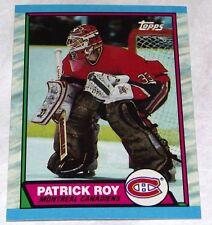 60x 1989-90 Topps Hockey #17 Patrick Roy BV $120