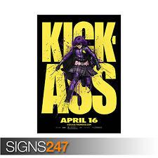 KICK ASS MOVIE (1268)  Photo Picture Poster Print Art A0 A1 A2 A3 A4