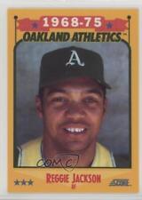 2876238730c0 1988 Score Factory Set Base High Gloss 500 Reggie Jackson Oakland Athletics  Card