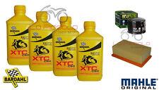 KIT TAGLIANDO 4 LT BARDAHL XTC + FILTRO ARIA E OLIO BMW F 800 GS 2014 2015