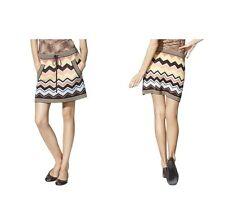 Missoni for Target Womens Zig Zag Stripe Sweater Skirt Chevron Multicolor NWT