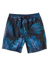 QUIKSILVER Youth Boardshort/Badehose Deep Jungle blau  BOYS  NEU