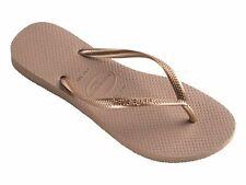 HAVAIANAS SLIM ROSE GOLD Thongs Sandals WOMENS FREE POST Flip Flops HSMS3581F