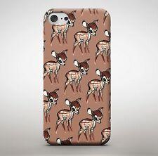 Baby Moose Reindeer Cartoon Pattern Animal Cute Pet Phone Case Cover