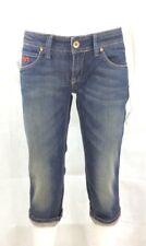 VSCT Glamrock BERMUDA JEANS SHORT DENIM SHORTS BLUE pantaloni corti pant donna doposcuola