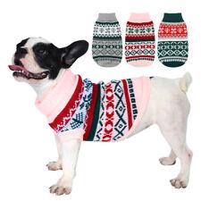 Xmas Hundepullover Strickpullover Pullover Hundebekleidung für kleine Hunde