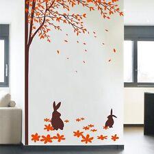 Wall Stickers Tree Flower Nursery Kids Wall Art Decals Butterfly Vinyl Decors155