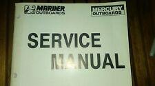 MERCURY SERVICE MANUAL PART # 90-822900R3 SM O/B V6 225-250  #s 90-822900 & R1