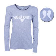 "%%%   LOUIS & LOUISA "" Engelchen "" Shirt grau mit Flügel Gr.104 - 152 NEU %%%"