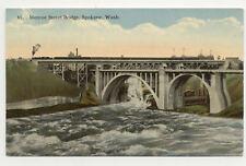 Early View Monroe St Bridge Spokane WA A5241