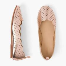 NWT Gymboree Girls Flat Dress shoes Metallic Rose Gold Many Sizes