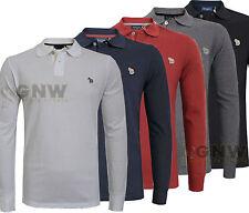 PAUL SMITH uomo manica lunga zebrato T-Shirt Polo / MAGLIETTA S/M/L/XL /