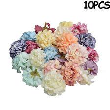10Pcs Artificial Silk Floral Flower Head Hydrangea Wedding Party Decor Crafts