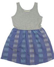 New! Roxy Woven Stripe Tank Dress Kids Little/Big Girls Youth Sz 4-12