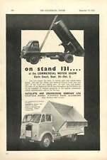1954 Autolift Engineering Firestone Tyres Blackburn Ad