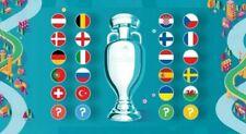 PANINI ADRENALYN XL UEFA EURO 2020 BASE CARDS 226-387 PLAY OFF TEAMS LOGO MASCOT