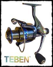 mulinello Teben CPR SUPER 9BB frizione posteriore pesca mare lago fiume