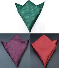 Men`s Suits Hanky Pocket Handkerchief Square Wedding Matching Formal Groom