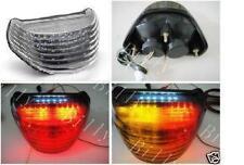 Taillight Turn Signals LED Light Kawasaki ZX12R 2000-2005 01 02 03 04 Clear