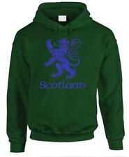 SCOTLAND LION Rampant - Uk Scottish Flag - Fleece Pullover Hoodie