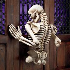 Design Toscano Ascending Evil Climbing Skeleton Wall Sculpture