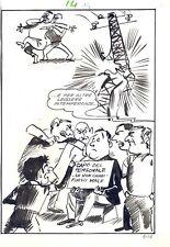 TELEROMPO  4 pag  14  Planche Originale