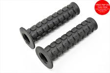 HIGH QUALITY PVC 125mm SOFT GRIP BMX HANDLEBAR GRIPS,ALSO SUIT MTB/ANY BIKE BLK
