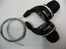 Bicicletta grip shift Micro GEAR SHIFTERS Shimano & Sram compatibile BICI CICLO NUOVO