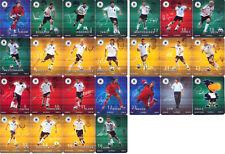 DFB/REWE-Sammelkarten WM 2010 ~ 2 aus allen 25 Karten auswählen !!!