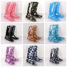New Womens Ladies Boots Rain Snow Wellies Waterproof Walking Garden Work Shoes