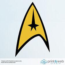 Star Trek Federation Wall Decal Logo Van Laptop Vinyl Sticker