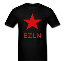 EZLN Zapatista Star Zapata War T-shirt Tee
