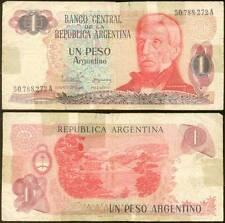ARGENTINA 1 PESO 1983/84