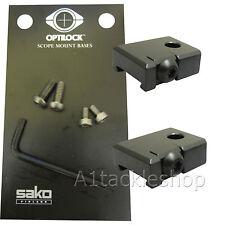Optilock Base For Sako/Tikka Rings/Mounts 75/85/T3/TRG etc - Blued