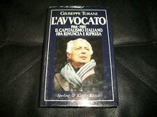 GIUSEPPE TURANI-L'AVVOCATO 1966/1985-INFORMA N.54-SPERLING&KUPFER-PRIMA ED.1985