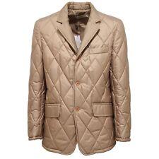 0914V giubbotto uomo FREEWEAR SC beige giacca jacket men