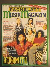 FACHBLATT MUSIK MAGAZIN 1997 # 4 - AEROSMITH HELMET